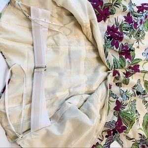Nanette Lepore Dresses - Nanette Lepore Strapless Floral Silk Dress 4 XS
